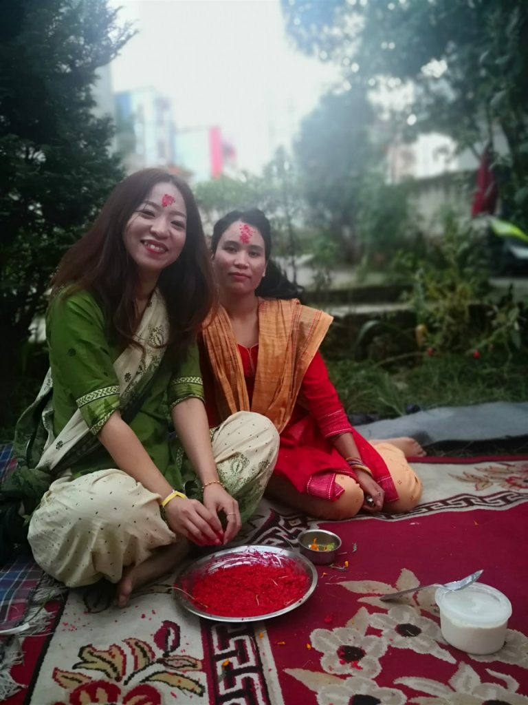 dashain celebration in kathmandu
