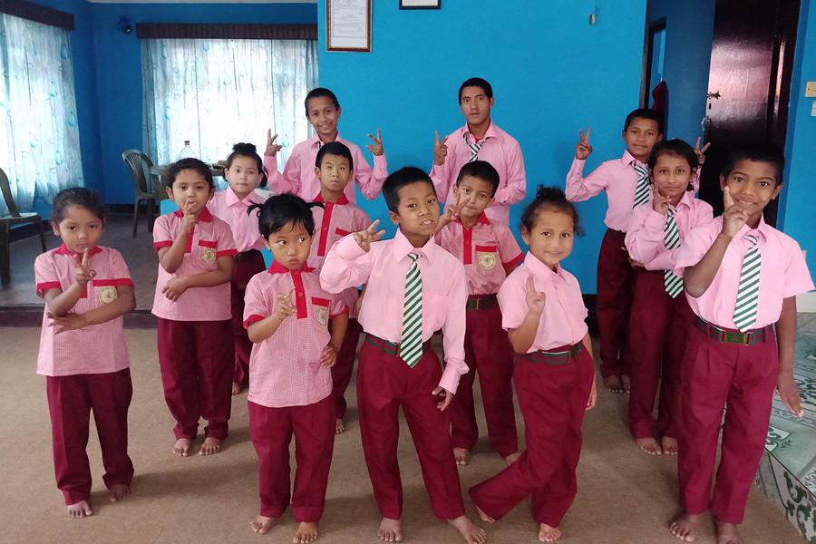 The school demands 3 sets of school uniforms for each kids