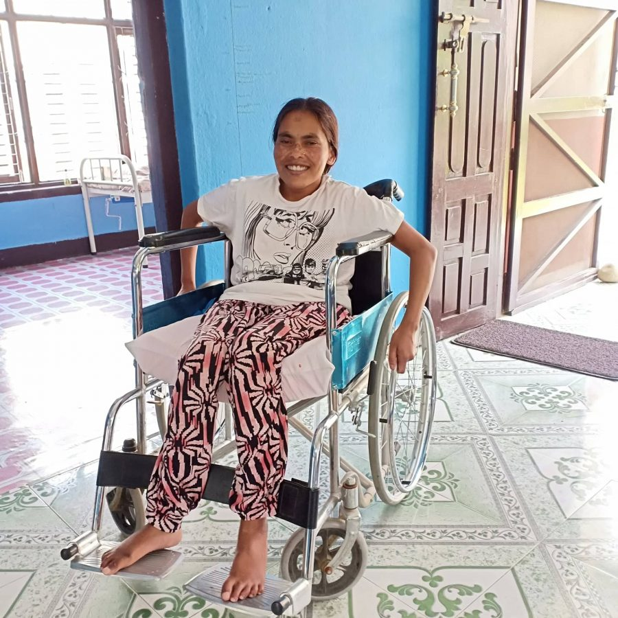 Dependent Profile | Lady with Spinal Cord Injury | Prajwala B.K.