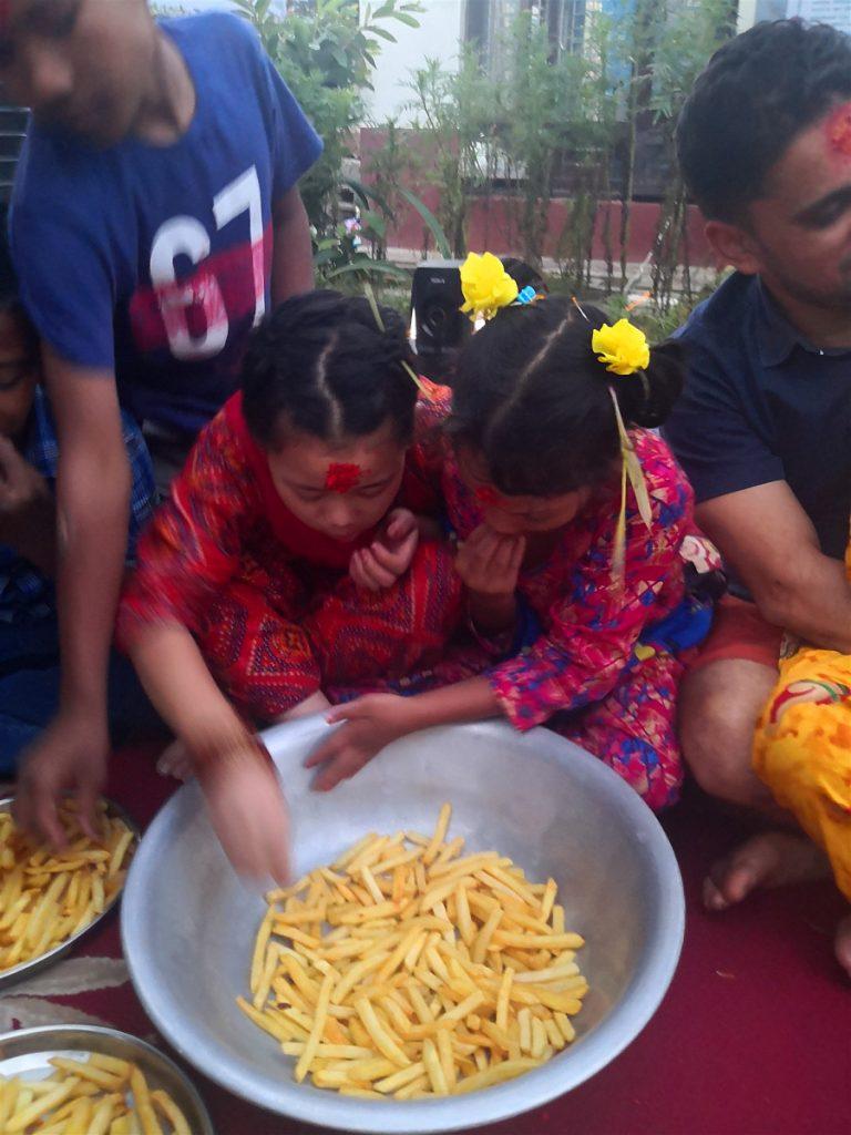 dashain celebration nepal