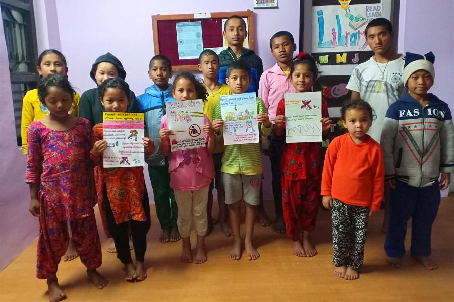 Nepal locks down 2020   Covid-19 Pandemic   Stay Home!