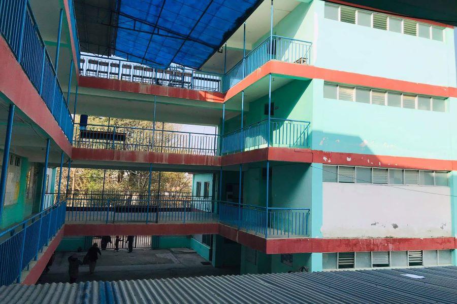 SHREE TAUDAHA HIGHER SECONDARY SCHOOL building