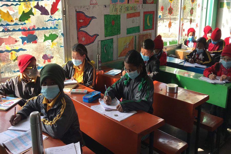 School reopening in Nepal after lockdown