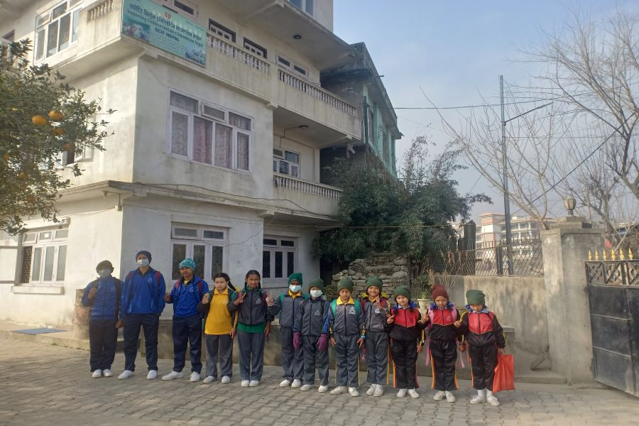 children ready for school