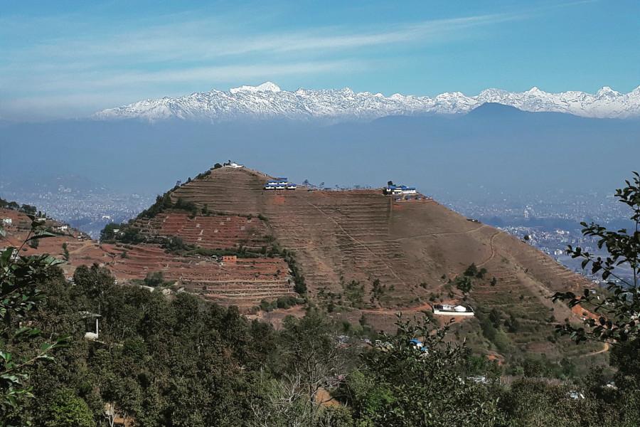 Bosan-Danda-White-House-Nepal