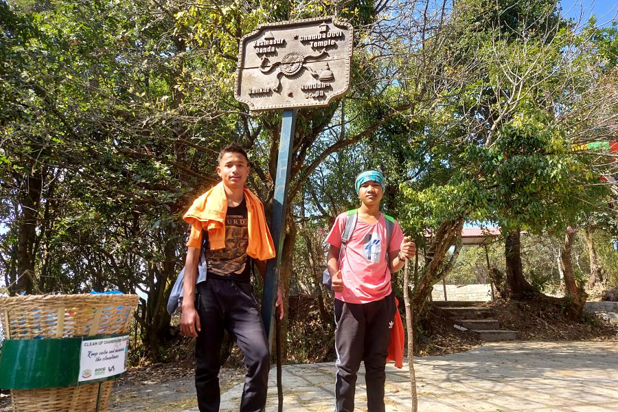 Champadevi Hiking Blog: One Day Hike From Kathmandu